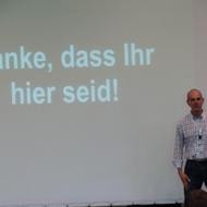 Namics AG: Der CEO Jürg Stuker bedankt sich auf dem Namics Conference