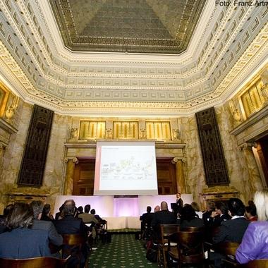 UniCredit Bank Austria AG: Festsaal Oktogon in der Schottengasse