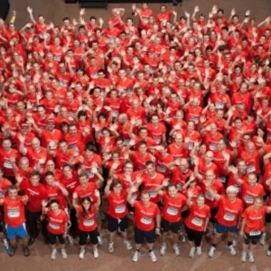 Jedes Jahr nehmen ca. 400 Mitarbeiter am J.P. Morgan Corporate Challenge Lauf teil.
