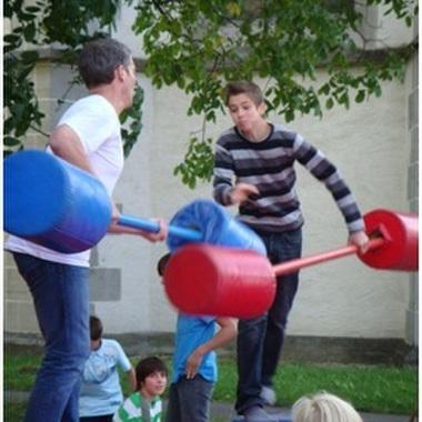 Action am Familienbrunch: Spass darf sein!
