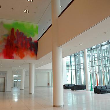 WGZ BANK: Die Eingangshalle unserer Niederlassung in Düsseldorf.