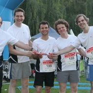 BLUEFORTE GmbH: MOPO Team-Staffellauf 2012