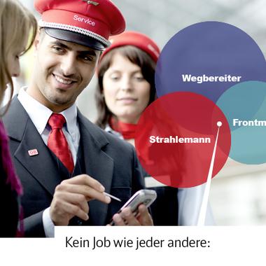 Servicemitarbeiter/in bei der Deutschen Bahn