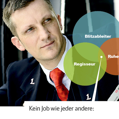 Zugchef/in bei der Deutschen Bahn