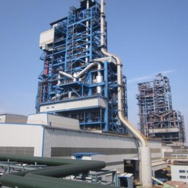 Industry - Herstellung von Roheisen in Corex Anlage