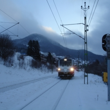 Infrastrucutre&Cities - Lok Vectron im Wintertest in Nordschweden