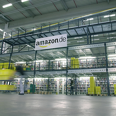 Amazon:             Einblicke in den Arbeitsalltag