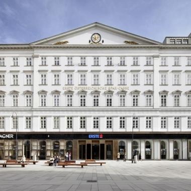Erste Bank: Headquarter am Graben