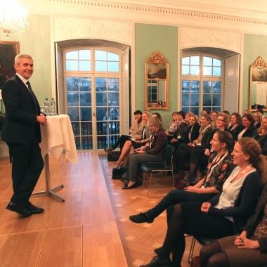 ABB Schweiz AG: Der CEO zu Gast bei den Kaderfrauen
