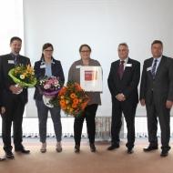sepp.med gmbh: 2012 wurde die Unternehmensnachfolge mit dem Gründerpreis der Mittelfränkischen Sparkassen ausgezeichnet!
