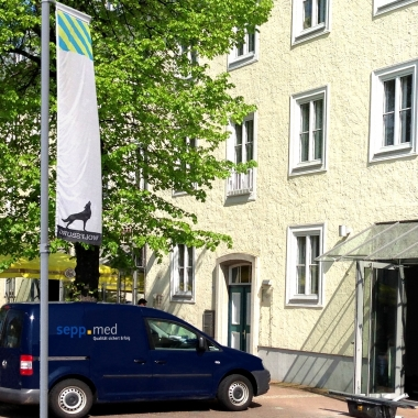 Die sepp.med-Niederlassung in Wolfsburg, Goethestr. 55.