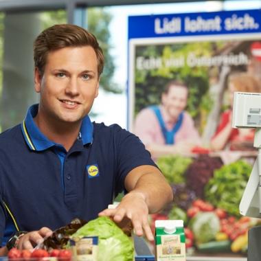 Lidl Österreich:             Einblicke in den Arbeitsalltag