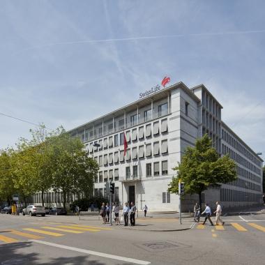 Swiss Life AG: Swiss Life Hauptgebäude am General-Guisan-Quai in Zürich