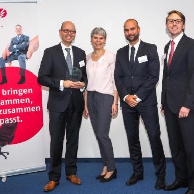 zeb: Im Oktober 2014 wurde unsere neue Karriereseite mit dem Best Practice Award von Apriori ausgezeichnet