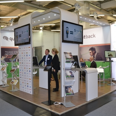 Questback GmbH: Messestand