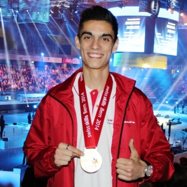 Manor AG: Blerton Ahmeti gewinnt die SwissSkills 2014