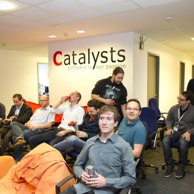 Catalysts GmbH: Wir tauschen unser Wissen aus – immer wieder in kleinen Lektionen, oder hier bei unserer ersten Catalysts Conference.