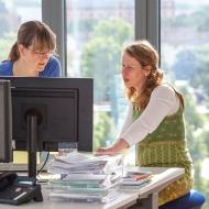Disy Informationssysteme GmbH: Arbeiten über den Dächern von Karlsruhe