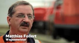 Matthias Follert, Wagenmeister bei der Deutschen Bahn