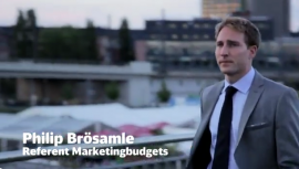 Philip Brösamle, Referent Marketingbudgets bei der Deutschen Bahn