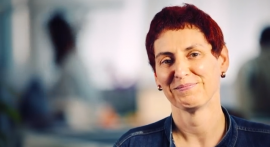 Antje Reich hat als Callcenter-Mitarbeiterin bei ImmobilienScout24 angefangen und sich zum VP Sales hochgearbeitet.