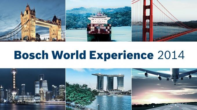 Die Bosch World Experience 2014