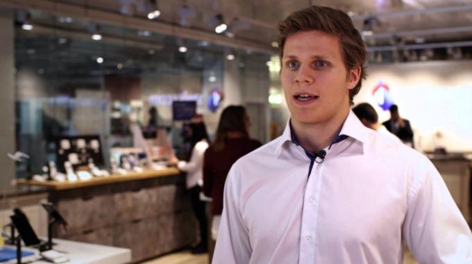 Grosse Eishockeyhoffnung – auch dank Förderung im Lernbetrieb